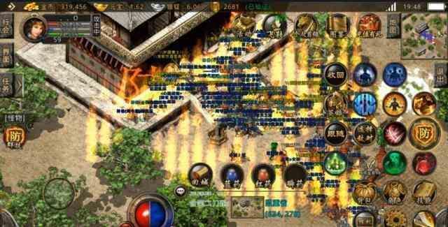 超变态传奇手游的战士职业才是游戏里的主宰