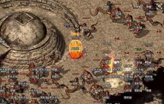 传奇世界sf中游戏达人分享赤月各BOSS刷新规律