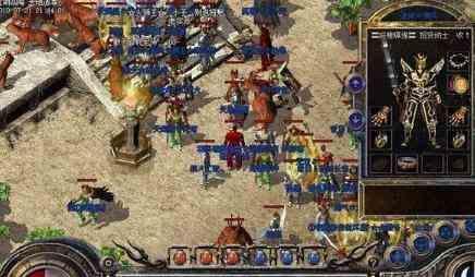 超变态传奇手游的战士与战士PK才是真正考验技术