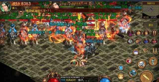 传奇世界私服中游戏天狼神戒5.0攻击PK之王分享